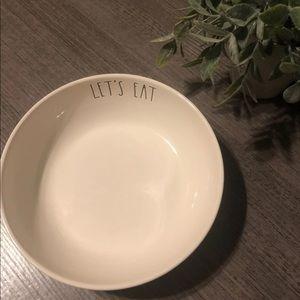 Rae Dunn pasta bowl